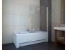 Шторка на ванну Koller Pool 1150x1400 chrome; grape QP97(left), фото