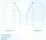 Характеристики Шторка на ванну Koller Pool 1150x1400 chrome; grape QP97(left)