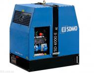 Дизельный генератор SDMO Diesel 6000 E-XLC M