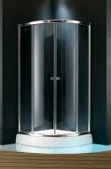 Душевая кабинка Koller Pool 1000х1000x1850 chrome, grape NF10