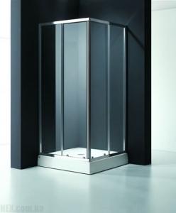 Душевая кабинка Koller Pool 900x900x1850 chrome; clear AC4E, фото