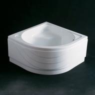 Душевой поддон с сиденьем Koller Pool 900x900x470 white ET90