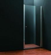 Дверь душевая Koller Pool 900x1950 bright chrome; clear glass QP10
