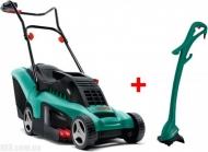 Электрическая газонокосилка Bosch Rotak 34 и триммер Bosch Art EasyTrim 23