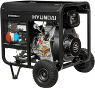 Генератор Hyundai DHY 8000LE3