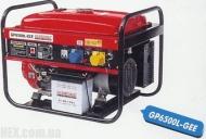 Генератор Glendale GP6500L-GEE/3