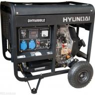 Генератор Hyundai DHY 6000LE