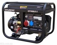 Генератор Hyundai HY 7000LE-3