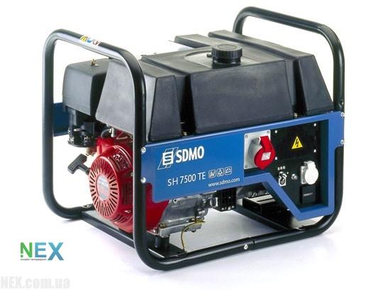 Бензиновый генератор sdmo lx 7500 стабилизатор напряжения ecoline iek