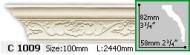 Карниз Gaudi Decor C 1009 (2.44м)