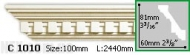 Карниз Gaudi Decor C 1010 (2.44м)