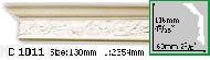 Карниз Gaudi Decor C 1011 (2.44м)