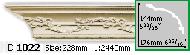 Карниз Gaudi Decor C 1022 (2.44м)