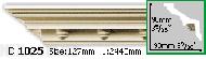 Карниз Gaudi Decor C 1025 (2.44м)
