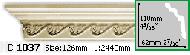 Карниз Gaudi Decor C 1037 (2.44м)