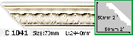 Карниз Gaudi Decor C 1041 (2.44м)