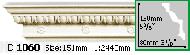Карниз Gaudi Decor C 1060 (2.44м)