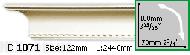 Карниз Gaudi Decor C 1071 (2.44м)