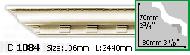 Карниз Gaudi Decor C 1084 (2.44м)