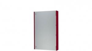 Зеркальный шкаф ЭКО - 55 вишневый, фото