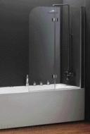 Шторка на ванну Koller Pool 1150x1400 chrome; grape QP97