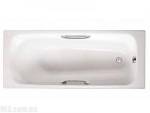 Ванна чугунная с отверстием для ручек Jacob Delafon Melanie E2925-00 170*70, фото