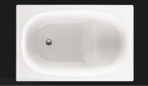 Ванна Koller Pool сталь 105x70, фото
