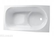 Ванна Kolo Diuna 160x75