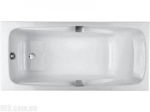 Ванна с отверстиями для ручек Jacob Delafon Repos E2903-00 180*85 см, фото