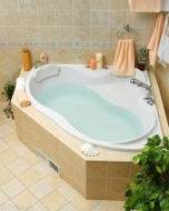 Ванна VAGNERPLAST IRIS 143 x 143