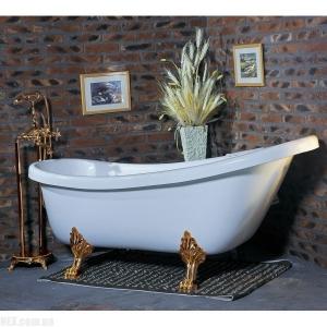 Ванна Wisemaker WA-1708 gold foots, фото